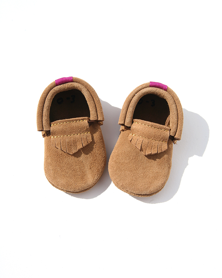 LEATHER BABY SHOES <br>PERU