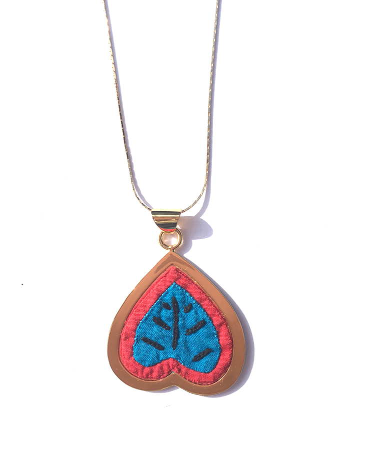 HEART NECKLACE<BR>COLOMBIA