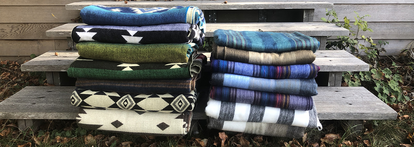 AUTUMN SPECIAL : <br><br>NEW BLANKETS FROM ECUADOR